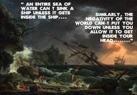 Motivational Quotes - Shipwreck and Defiance