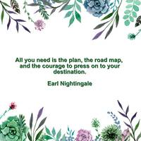 Motivational Quotes - All you need is the plan, th