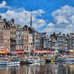 """Old Harbour Honfleur Normandy - PMP23763"" by rdwittle"