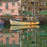 """Padstowe Harbor Reflections - PMP1613089"" by rdwittle"