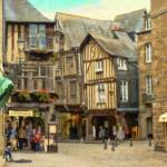 """Pontivy Shops Brittany France - PMP161381"" by rdwittle"