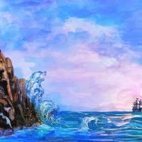 Sea stories 2 Art Prints & Posters by Andrzej Szczerski