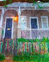 New Orleans Mardi Gras Bead House