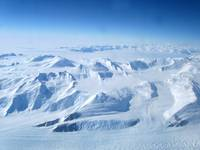 Aerial view of Transantarctic Mountains. Nick Powe