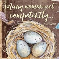 Many Women Act Competently