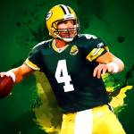 """brett favre green bay packers"" by taylansoyturk"