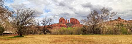 Cathedral Rock Panorama