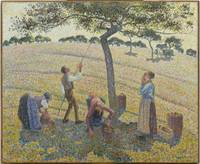 Apple Harvest ,  Camille Pissarro (French, 1830 -