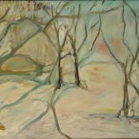 Winter Woods Art Prints & Posters by Leon Sarantos