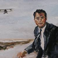"""Cary Grant Hitchcock North by Northwest Movie"" by GinetteCallaway"
