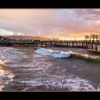 Redondo Pier, Redondo Beach, CA Art Prints & Posters by Mark E Loper
