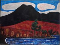 Mt. Katahdin (Maine), Autumn #2 ,  Marsden Hartley