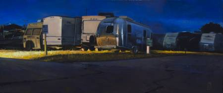 Walker, Steven_Night Stream_10x24_oilonpanel_$1600