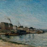 """Louis Gurlitt Bilder, coastal village"" by motionage"