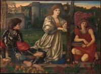 The Love Song Artist Sir Edward Burne-Jones