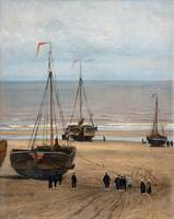 THORSTEN WAENERBERG, COSTAL SCENE FROM THE NETHERL