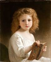 William Adolphe Bouguereau , The Story Book