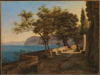 Heinrich Reinhold , Terrace of the Capuchin Garden