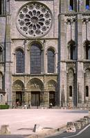 Cathedral, Chartres, West Front