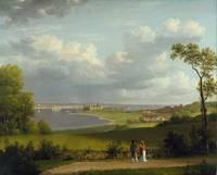 Christoffer Wilhelm Eckersberg, View north of Kron