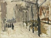 George Hendrik Breitner - Cityscape in The Hague
