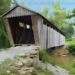 """Bennetts Mill Covered Bridge"" by Designermite"
