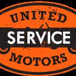 """United Service Motors distressed version"" by felixpadrosa"