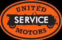 United Service Motors distressed version