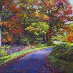 """AUTUMN LEAF ROAD"" by DavidLloydGlover"