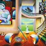 """Picasso and Dali"" by cesarperalta"