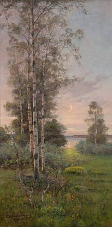 EDVARD WESTMAN, SUMMERNIGHT ON ÅLAND