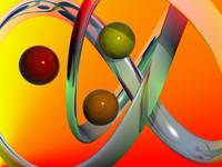 three balls abstract art