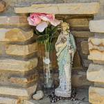 """St Jude Catholic Church Grotto Niche"" by awsheffield"