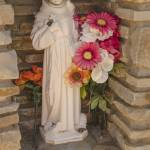 """St Jude Catholic Church Grotto Niche with Coins"" by awsheffield"