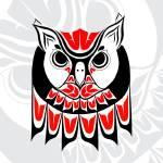 """""""Horned Owl"""" by HaidaRavenArt"""