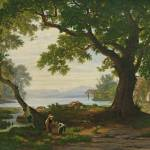 """Robert Zünd 1827 - 1909 AM SEMPACHERSEE"" by motionage"