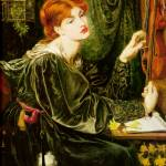 """Dante Gabriel Rossetti - Veronica Veronese 1872"" by motionage"