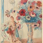 """Edmund J. Sullivan 1869-1933 Flowers and Porcelain"" by motionage"