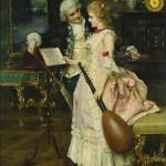 """FEDERICO ANDREOTTI, 1847-1930, AN INTERLUDE"" by motionage"