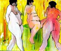 Three Nude Ladies