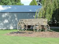 Antique Farm Wagon 3982
