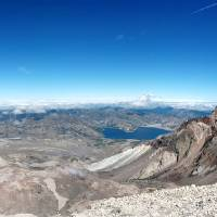 Mt St Helens Summit - Panorama Art Prints & Posters by R Lynley