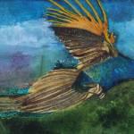 """""""Evening Flight"""" by DianaNadalFineArt"""
