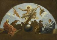 Roman School, 18th Century THE ASSUMPTION OF A MAR