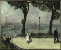 East River Park William Glackens