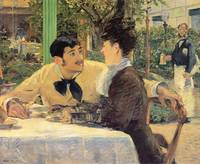 edouard manet  - at father lathuille 1879