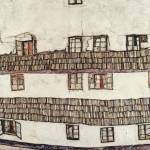 """Egon Schiele Dead City III, 1911"" by motionage"