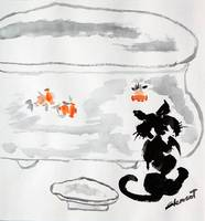 WP-014 Cat and Fish