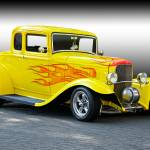 """1932 Ford Five-Window Coupe III"" by FatKatPhotography"