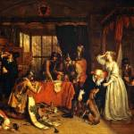 """""""Charles Landseer - The Plundering of Basing House"""" by motionage"""